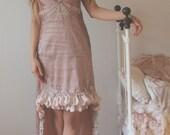 ON SALE -30%: Moonalia Dream Bohemian Rose Cradle Dress