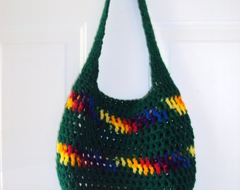 Small Market Bag - Small Market Tote - Crochet Bag -Mesh Market Bag - Crochet Market Bag - Crochet Market Tote - Beach Bag - Beach Tote