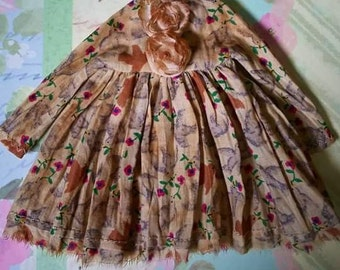 Vintage style dress for Neo Blythe