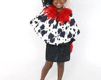Curella Deville, 101 Dalmation Costume, Dalmation Costume, Curella Costume