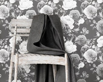 Floral Wallpaper floral wallpaper | etsy