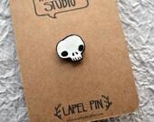 Itty-Bitty Skull Lapel Pin