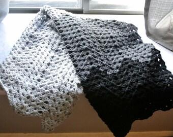 Granny Ripple Ombre Blanket