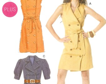 McCall's 6279 - Trench Dress (8–16)