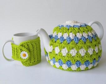 Crochet Tea Pot Cozy -Tea Cozy