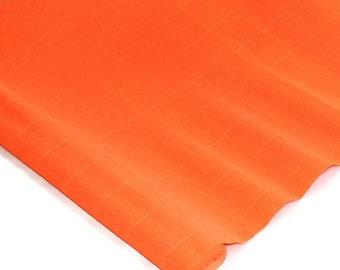 "Italian Crepe Paper - Clementine Orange - 19"" x 98"" Roll"