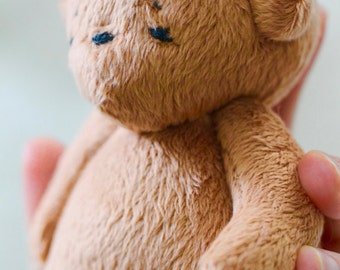 Bear Toy-Teddy Bear-Bear Toy-Tati Cuddle Bear (hand stitched eyes) -Stuffed Animal