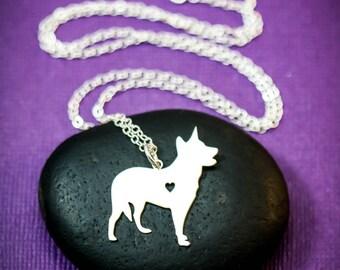 SALE - Blue Heeler Necklace - Australian Cattle Dog - Custom Dog Necklace - Pet Memorial Gift - Dog Jewelry - Dog Mom Gift - Pet Lover Gift