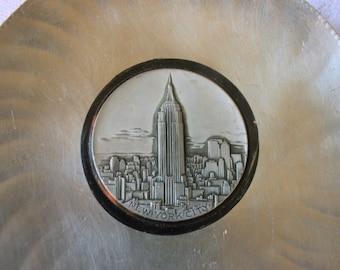 Vintage Aluminum Souvenir - New York City Souvenir - Empire State Building