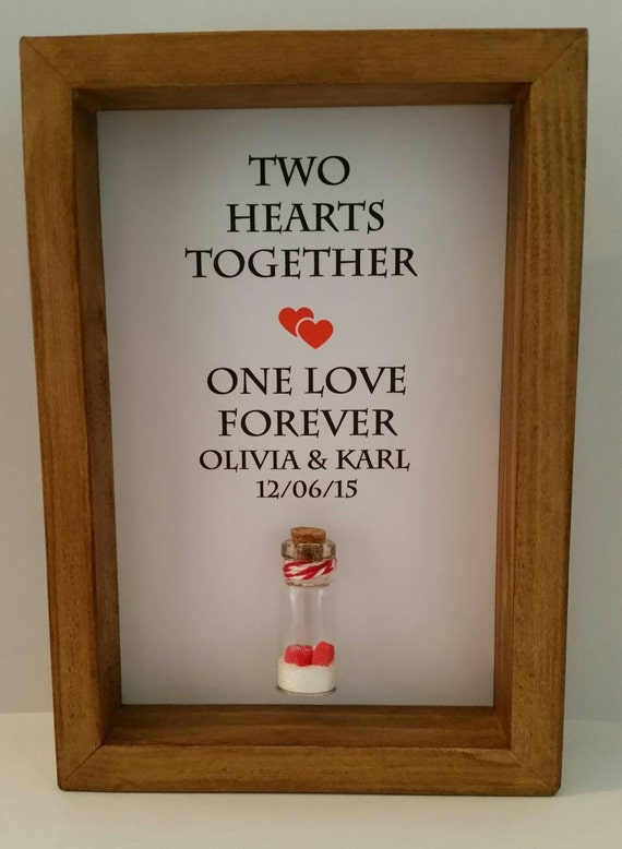 Unusual Wedding Anniversary Gift Ideas : Unique wedding gift. Wedding present. Anniversary gift for couples ...