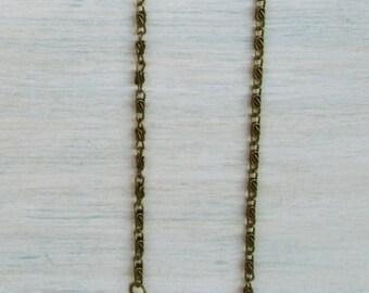 Metal Purse Chain  (BRONZE)