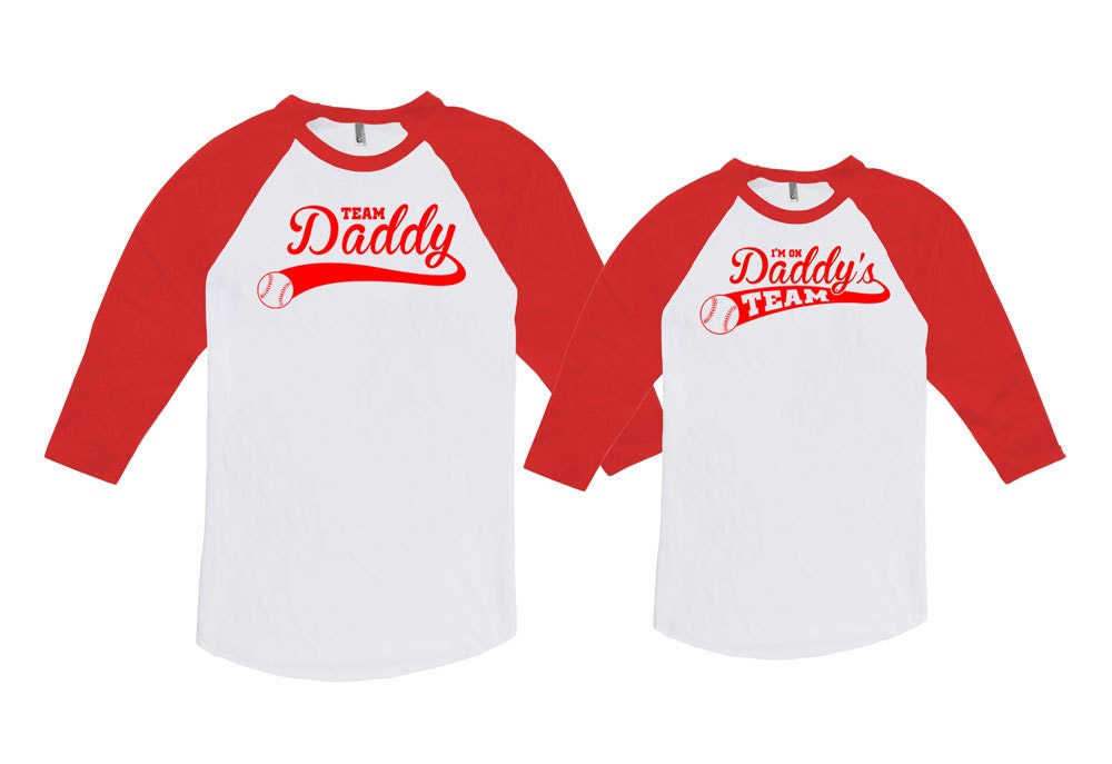 Father son shirts father daughter shirts dad and baby shirt T shirts for dad
