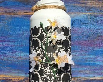 Decorative Mason Jar, Country Chic