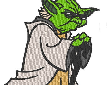 Yoda - Star Wars  (embroidery design)