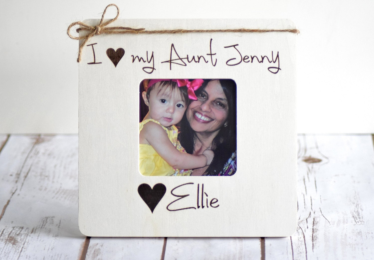 Christmas Gifts For Aunt, Personalized Picture Frame