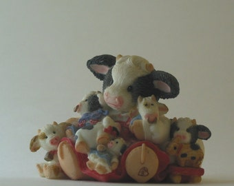 Cowdependent? Enesco Moo Moos - Friends are the Best Cowlectibles