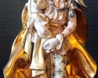 Madonna & Child by Professor Eugenio Pattarino -Ceramic Figurine - Made in Italy