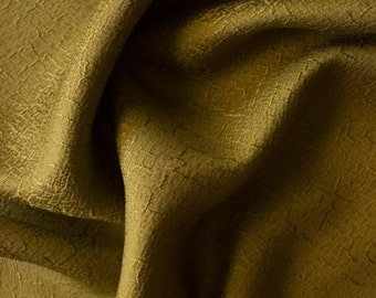 Grass green textured kimono fabric. sold in 1/2 meter blocks