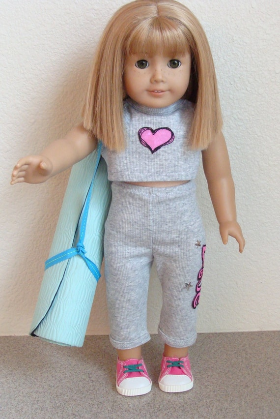 American Girl Outfit Also Fits 18 Doll Workout Yoga