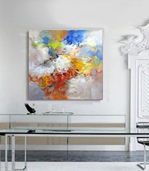 Extra large wall art modern wall art livingroom decor for Extra large wall art