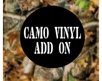 Camo Vinyl: Add On
