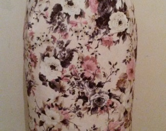 very flowery skirt trend