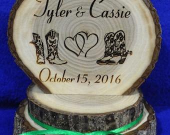 Western Home Decor ~ Western Cake Top ~ Rustic Wedding ~ Barn Wedding ~ Rustic Cake Top ~ Custom Cake Top ~ Western Cake Topper ~ Rustic ~