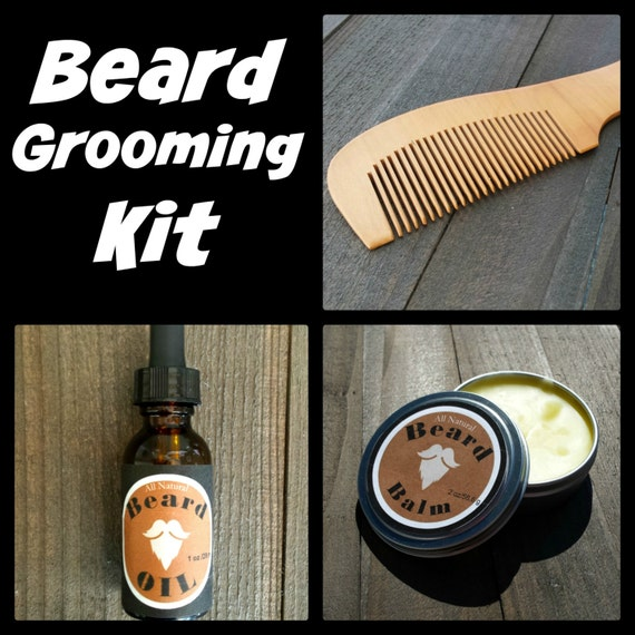 beard grooming kit all natural beard oils beard balm. Black Bedroom Furniture Sets. Home Design Ideas