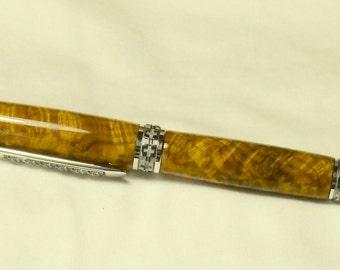 Wood Pen - Chittum Burl Fountain Pen