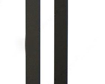 Barn door handle,industrial style barn door handle with knob,matte black barn door handle,back to back door handle