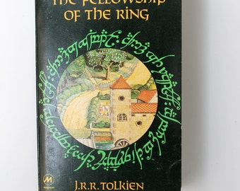 Vintage The Lord of the Rings Part One The Fellowship of the Ring Paperback 1977
