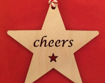 Wooden Star - Cheers