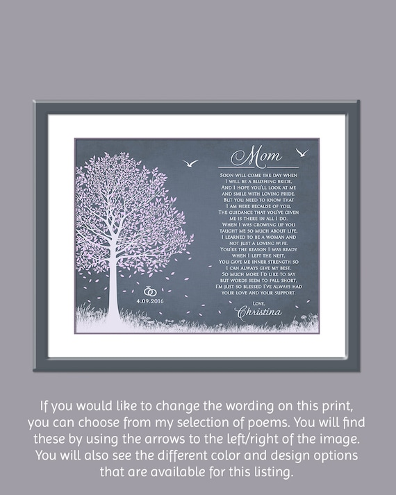 Wedding Gifts For Mother Of The Bride Uk : Mother Of the Bride Gift For Wedding - Wedding Presents Personalized ...