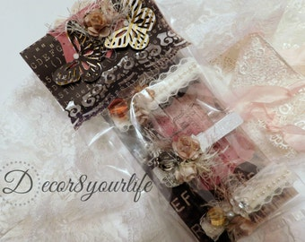 Shabby Chic Clothespins. Shabby Chic Altered Clothespins. Clothespin. Shabby Chic.