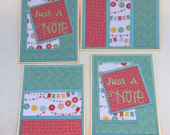 SALE - Sets of 4 Note Cards
