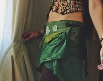 Mossy Green Wraparound