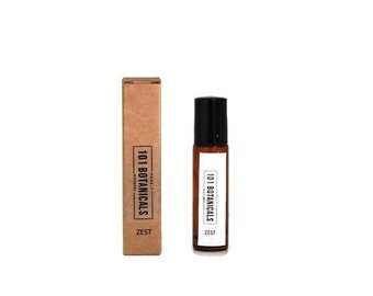 ZEST, All Natural Perfume Oil. Citrus & Vanilla. Vegan, Alcohol-free, 100% Natural, Handcrafted from pure essential Oils