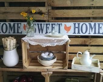 Farmhouse Decor Reclaimed Wood, Home Sweet Home, Wood Sign, Farmhouse Sign, Rustic Farmhouse, Reclaimed Wood Sign, Rustic Decor, Shabby Chic