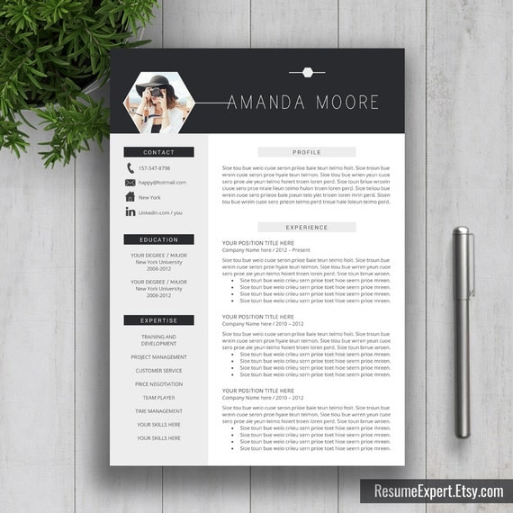Creative Professional Resume Template Cv By Resumeexpert