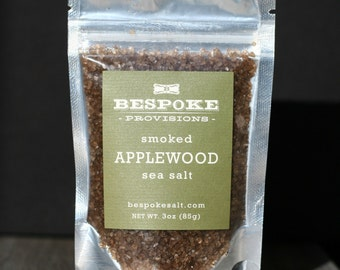 Smoked Applewood Sea Salt - pack size