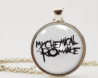 My Chemical Romance Pendant Necklace or Keychain