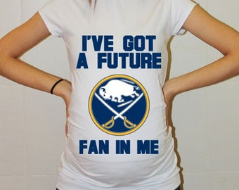 Buffalo Sabres Baby Buffalo Sabres Baby Boy Baby Girl Maternity Shirt Maternity Clothing Pregnancy New Baby Shower