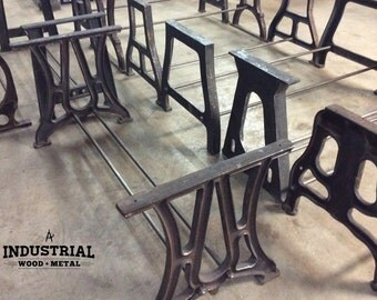Iron Table Legs Etsy