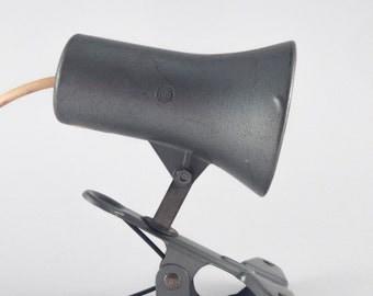 LITA galvanized clamp lamp