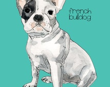 Custom Dog Portrait-Custom Pet Portrait-Geclee Print-Wall Art-Dog Lovers-Personalized Dog Portrait Any Breed-Memorial-Gift-Dog Portrait