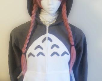 Custom made hoodie - Totoro
