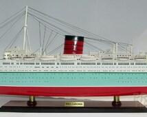 RMS Caronia Ready Display Ship Model