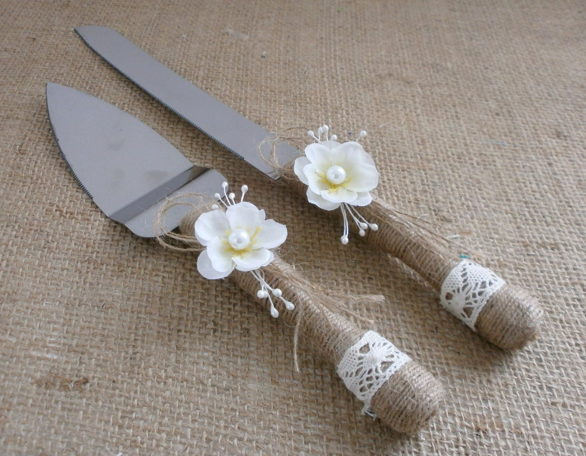 rustic wedding cake knife set uk wedding cake serving set cutting set rustic knife set rustic 19542