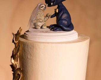 Custom Character Wedding Cake Topper