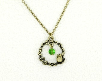 Lease Necklace / My Neighbor Totoro Studio Ghibli / Small Totoro